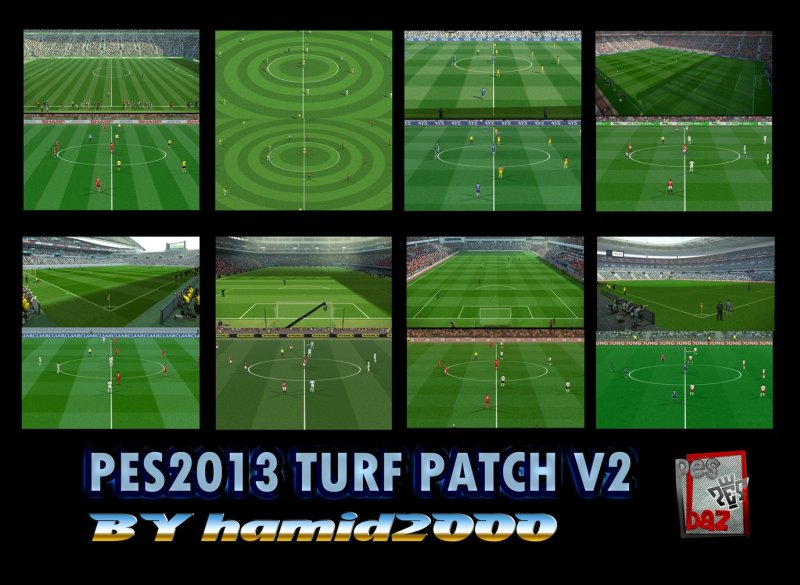 pes 2013 turf patch