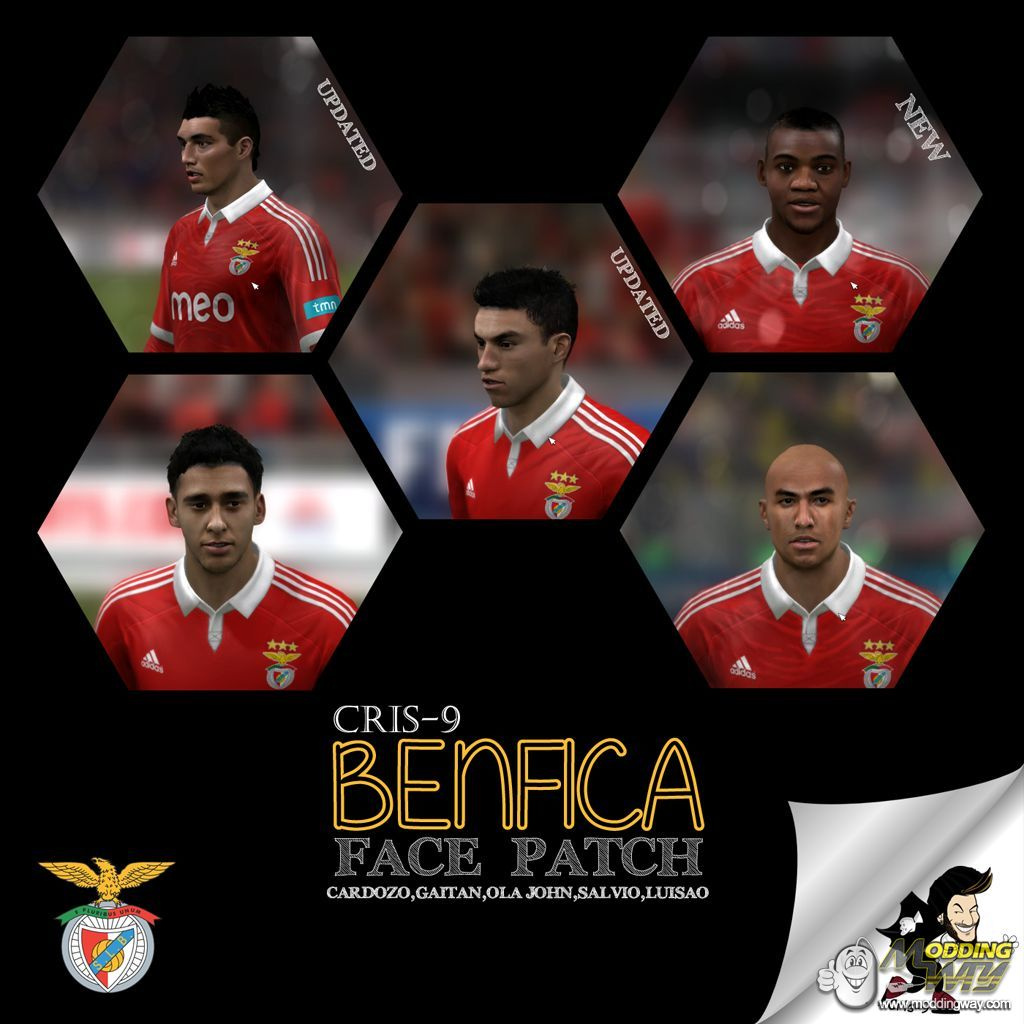 fifa 13 benfica cardozo face pack