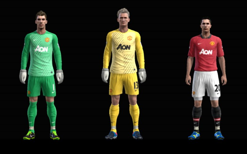 pes 2013 manchester united 2014 kit forma