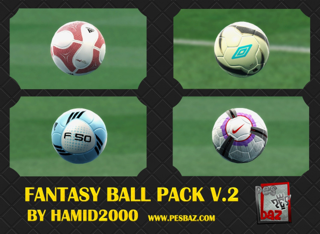 pes 2013 fantasy ball pack top yaması
