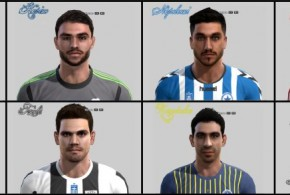 pes 2013 greece face pack