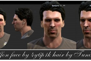 pes 2013 buffon face