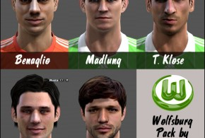 pes 2013 wolfsburg face pack