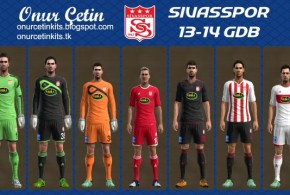 pes 2013 sivasspor forma kit 2014