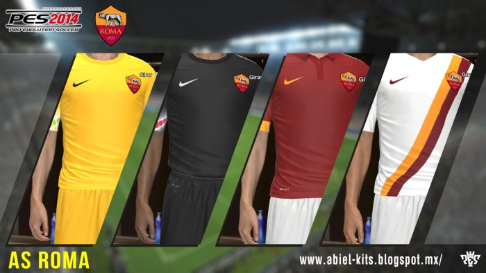 PES-2014-AS-Roma-GDB-2014-2015-by-ABIEL